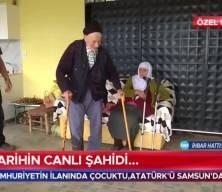 Türkiye'nin en yaşlı amcasından Erdoğan'a dua