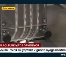 Virüs ilacı Türkiye'de deneniyor: 'Sihir mi yaptınız, 2 günde ayağa kalktım diyorlar'