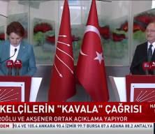 Akşener'den Kılıçdaroğlu'na ziyaret
