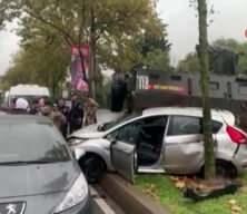 Sarıyer'de zincirleme kaza: Yaralılar var