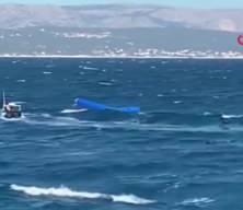 Yunanistan'da facia! Göçmenleri taşıyan tekne battı