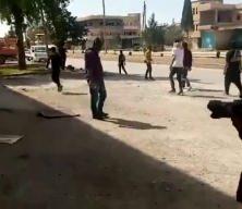 PKK yandaşlarından ABD ordusuna ait araçlara saldırı: Türkiye'ye karşı bizi yalnız bıraktınız