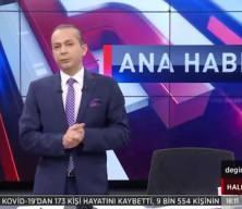 Başkan Erdoğan aşı olurken Halk TV sunucusu İrfan Değirmenci'den skandal sözler
