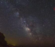 İzmir'de Samanyolu Galaksisi'nden eşsiz manzaralar