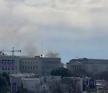 ABD'de alarm! Dumanlar yükseldi, kongre binası kapatıldı!