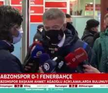 Ahmet Ağaoğlu: Uzaydan bile izleseniz penaltı!