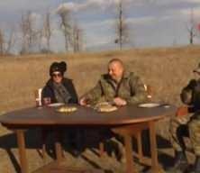 Aliyev'den Cıdır Ovası'nda zafer çayı