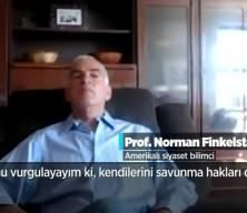 Amerikalı ünlü Yahudi profesör Norman Finkelstein'den İsrail'e sert eleştiriler