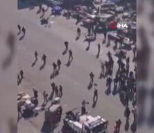 Bağdat'ta intihar saldırısı! Korkunç görüntüler, onlarca ölü ve yaralı
