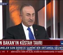 Bakan Çavuşoğlu, Yunan Bakan'ın küstah tavrını yorumladı