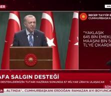 Başkan Erdoğan esnafa destek paketini açıkladı
