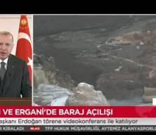 Başkan Erdoğan: Silvan Barajı'nı önümüzdeki yılın sonuna kadar tamamlamayı ve su tutmaya başlamayı planlıyoruz