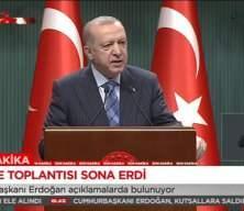 Başkan Erdoğan'dan okullarla ilgili açıklama
