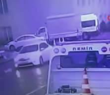 Borcu olan arkadaşını vurup arabadan attı! O anlar saniye saniye güvenlik kamerasına yansıdı