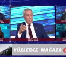 Bülent Arınç'tan canlı yayında skandal sözler! Tepki yağıyor!
