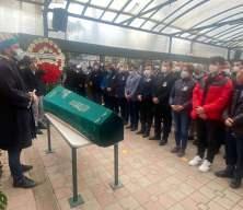 Canan Kaftancıoğlu, cenaze namazından en ön safta