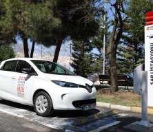 Cerrahpaşa'da elektrikli araç şarj istasyonları hizmete girdi