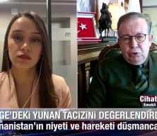Cihat Yaycı: Yunanistan'ın tacizi büyük fırsat, Türkiye harekete geçmeli