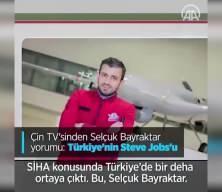 Çin TV'sinde Selçuk Bayraktar yorumu: Türkiye'nin Steve Jobs'u
