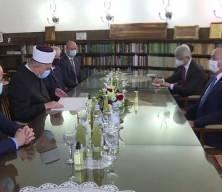Dışişleri Bakanı Çavuşoğlu'nun Hırvatistan Müslümanlarıyla buluşmasında duygusal anlar yaşandı