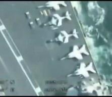 'İran İHA'sı ABD uçak gemisini adım adım takip etti' iddiası yalan çıktı