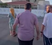Filistinli aktivist Avukat Halid Zabarka, fanatik Yahudileri Tarihi Ulu Cami çevresinden kovdu