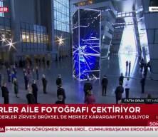 NATO aile fotoğrafında dikkat çeken detay
