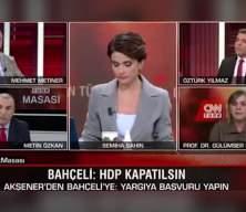 Gülümser Heper 'sayın Öcalan' deyince ortalık karıştı!