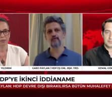 HDP'li Garo Paylan'dan CHP ve İYİ Parti'ye gözdağı: Biz de sizinle olmaktan mutlu değiliz
