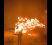 Hollanda yanıyor! Köprüyü patlatıp havaya uçurdular