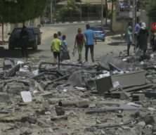 İsrail saldırılarının hedefi Gazze'de yıkım görüntülendi