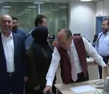 Kadir Topbaş'ın Kanal7'yi ziyaretinden görüntüler