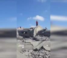 Katil İsrail ordusu ezanı susturamadı