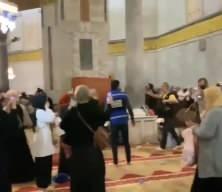 Kudüs'ün kadınları Kubbetüs Sahra'da direniyor