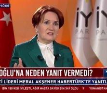 Meral Akşener'den 'Proje ittifak' itirafı