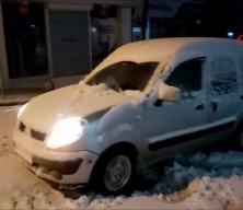 Meteoroloji uyarmıştı! Kar yağışı başladı
