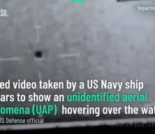 Pentagon doğruladı! Görüntüler UFO soruşturmasına ait