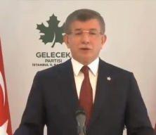 Ahmet Davutoğlu dalga konusu oldu