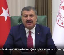 Sağlık Bakanı Fahrettin Koca'dan aşı açıklaması!