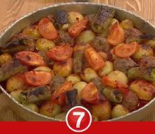 Salça soslu fırında köfte patates nasıl yapılır?