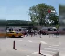 Sarıyer'de hastanede iki aile arasında kavga