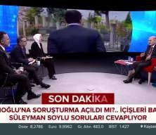 Soylu'dan İmamoğlu'na soruşturma açıklaması