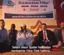 Sudanlılardan Türk büyükelçiye: O bizim evladımız