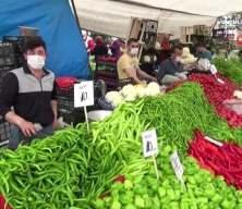 Sultangazili vatandaşlardan semt pazarlarına yoğun ilgi