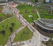 """TOKİ, eski stadyum alanlarını """"Millet Bahçesi""""ne dönüştürerek yeşillendirdi"""