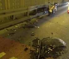 Trafik polisinden ilginç yöntem... Kaza yapan kişiyi bulmak için araçtakileri teker teker sürücü koltuğuna oturttu