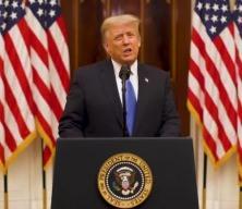 Trump veda konuşmasında Biden yönetimine 'başarı' diledi