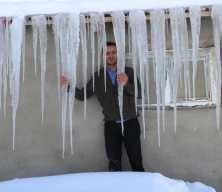 Türkiye'nin en soğuk yeri sıcaklık eksi 39,2 derece