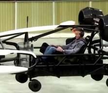 Uçan taksi test uçuşu yaptı