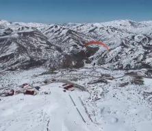 Yıldız Dağı'nda yamaç paraşütü rüzgarı esti